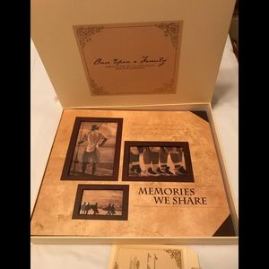 BN Once Upon A Family Scrap Book Album in Box